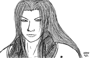 Sephiroth sketch by Ask-Key