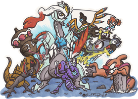 Destroy All Kyurems! by BLARGEN69