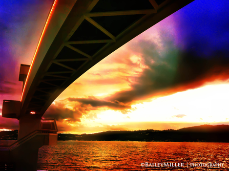 Under the Bridge by BaileyMPhotography