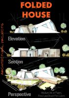 Folded House by AbdoHad