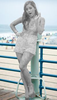Ariana Grande Statue Morph (Request) by TFLOVER28