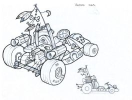 voodoo car by bishoper