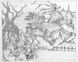 AFO Drawing Studio- Final Drawing Assignment by procon-8