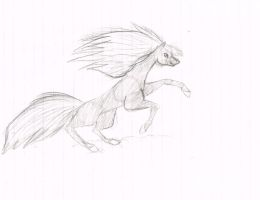 Horse Sketch by Morichalion