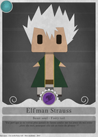 Fairy card's 15 - Elfman by spyrojojo