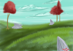 The Plains - Speedpaint by ExplodedPineapple