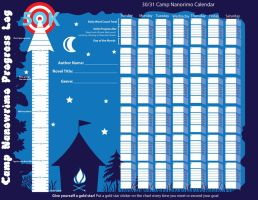 Camp Nanowrimo Progress Log by ArtsyAndreaM