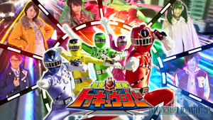 Ressha Sentai ToQger Wallpaper by UnknownChaser