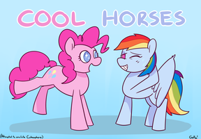 [MLPGD3 - 5] COOL HORSES by RapidStrike