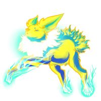 Jolteon by sarydactl