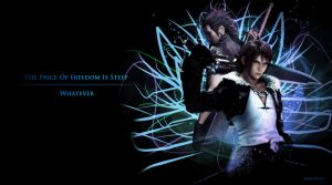 Squall x Zack Wallpaper by Mufurcka