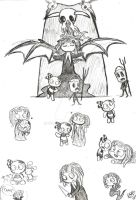 Lenore sketches by Celebi9