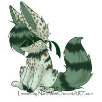 Blind Fennec Fox FREE by Inner-Realm-Adopts