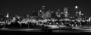 Denver skyline by gadgetsguru