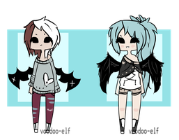 Winged Adopts -taken- by Voodoo-Elf