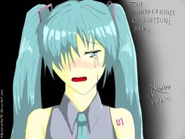 The Disappearence of Miku by xiaolee92