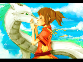 spirited away by fwosh