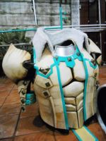 Monster Hunter 3G-Barioth Armor 2 by AsserT-REvenge
