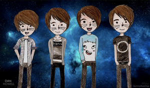 danisnotonfire throughout the years. by GummyBearOrgy