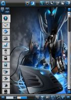 Alienware skin for Zlauncher by Dark-Capricorn