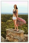 Kathryn on top of the world 1 by wildplaces