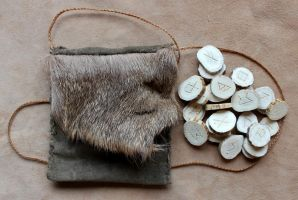 New Antler Runes - 4-22-15 by lupagreenwolf