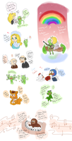 .: The Muppets Doodles  :. by FnFiNdOART