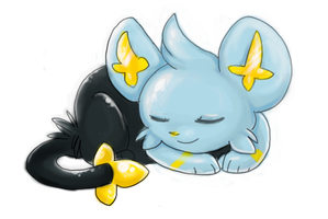 shiny shinx by Samwich