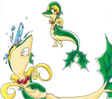 Holly: The Holiday Snivy by SkooIsCoo