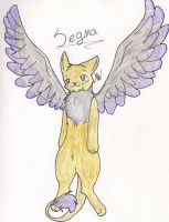 Art Trade .Segma. by xBadgerclaw