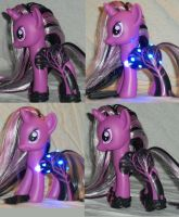 My Little Pony Custom Moonlit Night by Ember-lacewing