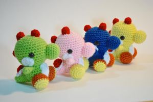 Rainbow of Yoshis by hiro-chan28