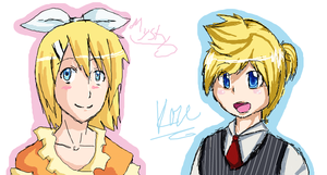 iScribble with Kaze by MystykNess