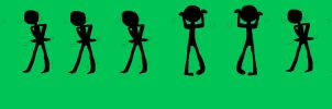 This is How I Dance -Base- by The-Pink-Green-Chibi