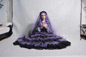 STOCK - Purple Bride by Apsara-Stock
