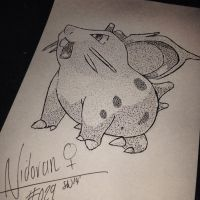 #029 - Nidoran(female) by poke-dots