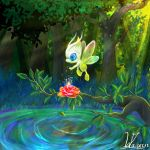Celebi by Pokemonpassage