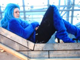 Saix HT Cos... Relaxing by LadyNoxia
