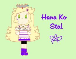 Hana Ko Stal for Alenestar by GalaxyPrincess16