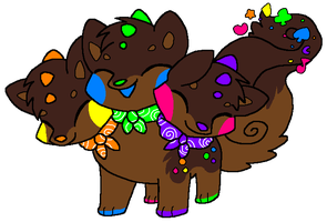 Cosmic Brownie by HeartinaThePony