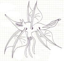 Pteracanthus (Damn! That's a beetle genus already) by palaeorigamipete