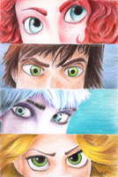 The Big Four Eyes by icypopper12