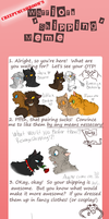 Warrior cats shipping meme by Please-be-careful