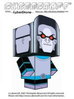 Cubeecraft - Mr. Freeze by CyberDrone