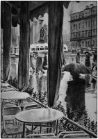 Rain in Leningrad, 1960 by akrathan