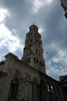 Belfry of St. Domnius in Split by popol-vooch