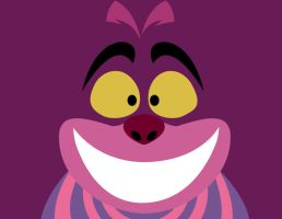 Cheshire Cat -minimal- by Arnumdrusk