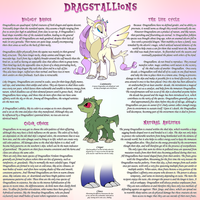 Twiggy's Little Species: Dragstallions by Twisted-Severity