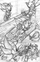Sonic vs Metal Sonic Comic Pg2 by CPC