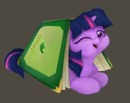 Book turtle by Mn27